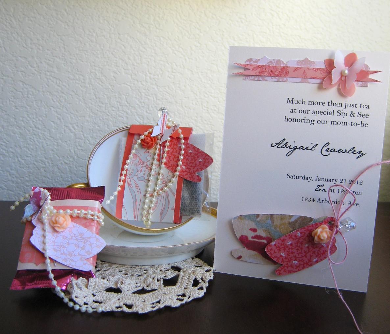 sei lifestyle baby shower tea party invite favors