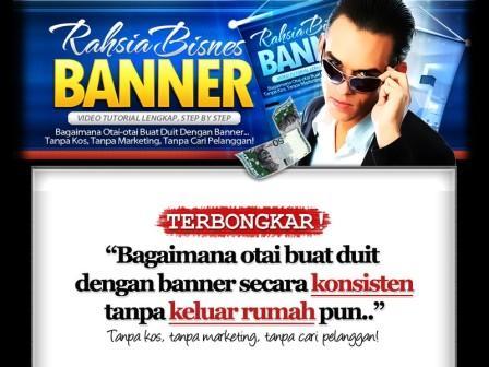 Buat Duit dengan Bisnes Printing Banner