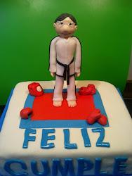 Tarta Taekwondo