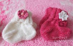 Носочки новорожденным