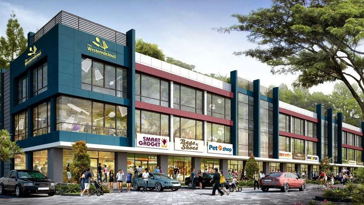 Ruko terrace 8 suvarna sutera promo launching 8 april 2015 for Terrace 9 suvarna sutera