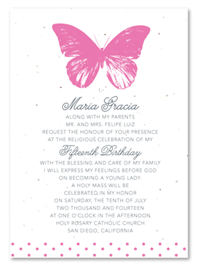 Quinceanera Invitations Spanish is amazing invitation layout