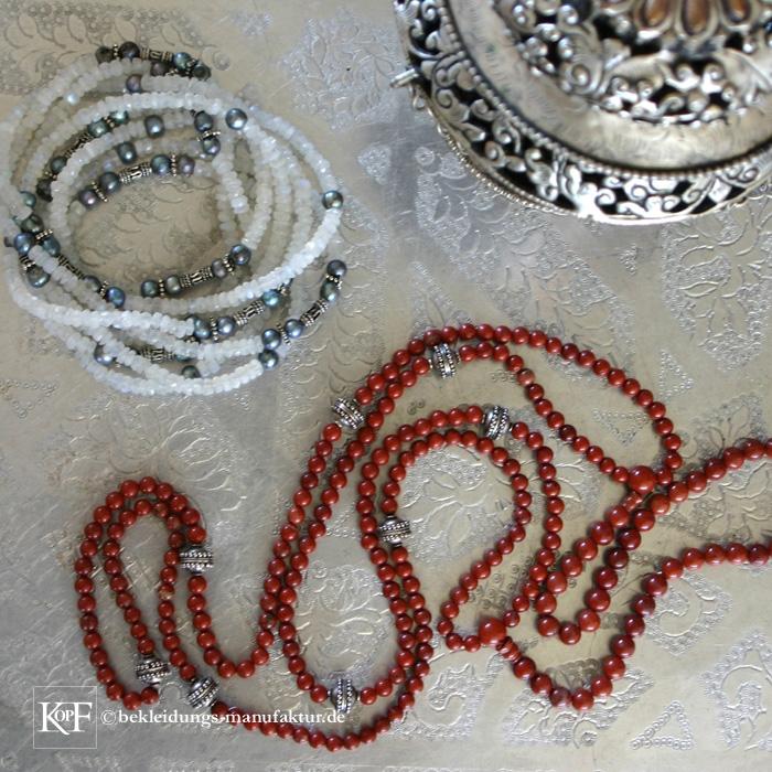 Jaspiskette © Bekleidungs-Manufaktur