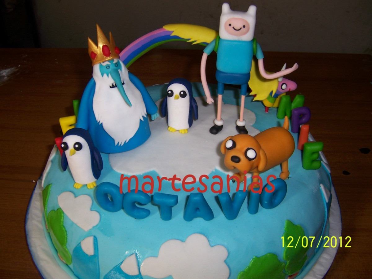Adventure Time Cakes Solo