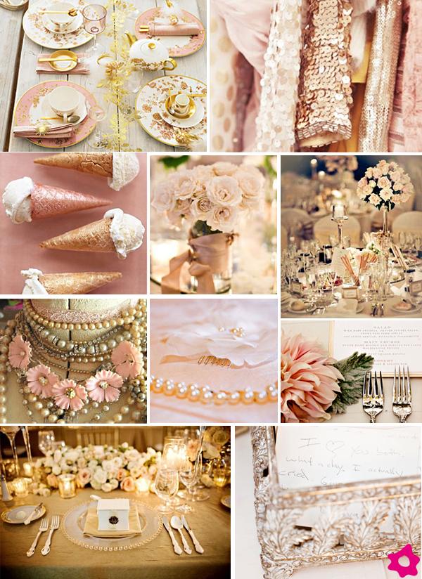 decoracao branca e dourada para casamento : decoracao branca e dourada para casamento:Marcadores: Casamento rosa e dourado , cores decoração casamento