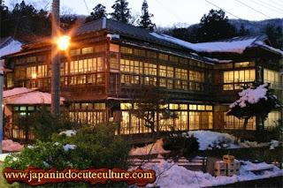 Ryokan, rumah tradisional Jepang