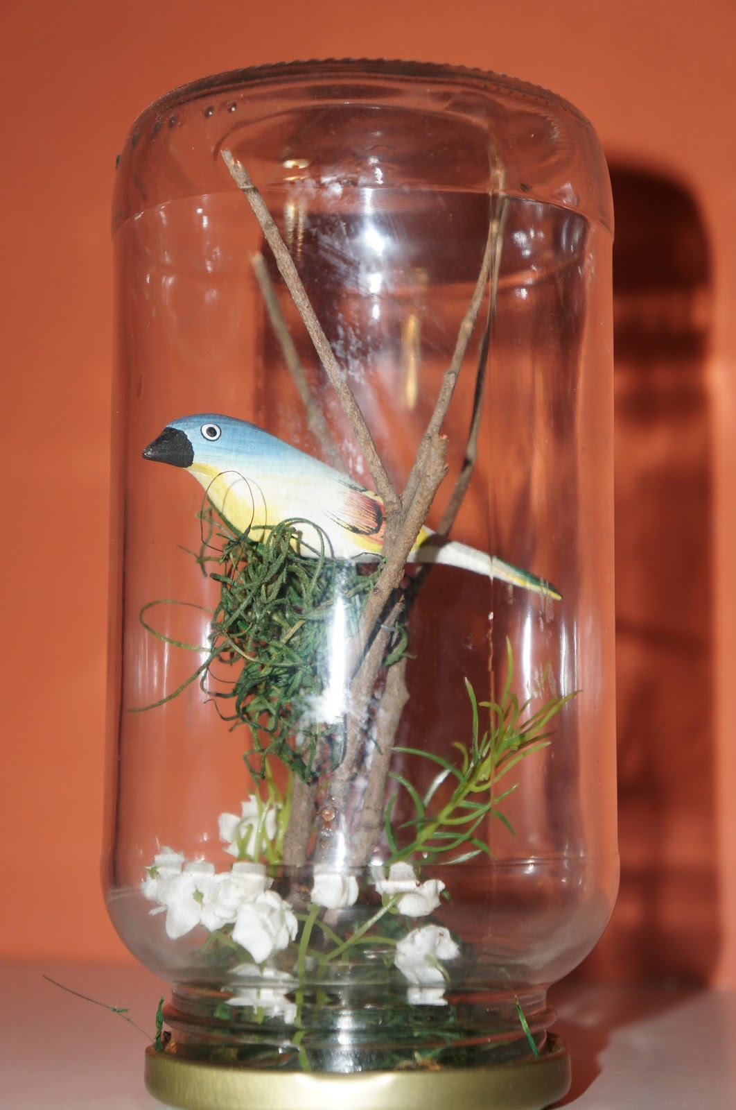 Adesivo De Geladeira Rio De Janeiro ~ Seu LIXO Meu LUXO!!! Redoma de vidro de azeitona
