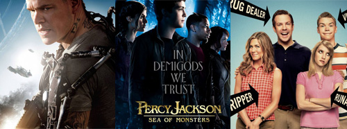 Elysium, Percy Jackson Sea of Monsters, We're the millers
