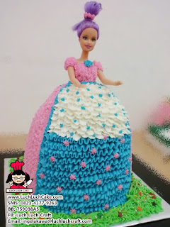 jual Kue tart barbie buttercream murah