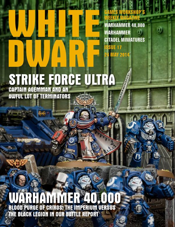 White Dwarf Weekly número 17 de mayo