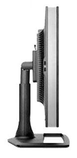 HP ZR30w LCD IPS monitor Side