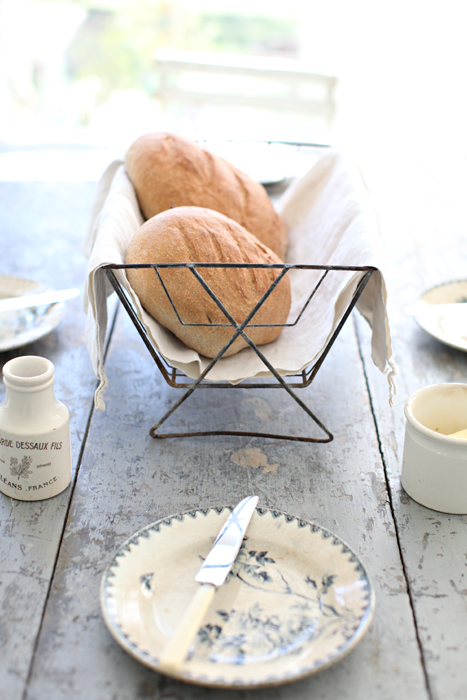 A French Bread Recipe An Antique French Dish Drying Rack and French Farmhouse Antiques in the Kitchen  sc 1 st  Dreamy Whites - Blogger & Dreamy Whites: A French Bread Recipe An Antique French Dish Drying ...