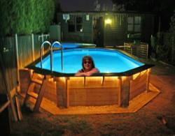 sweethome tu propia piscina en casa On piscina madera pequena