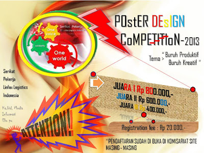 lomba design poster 2013