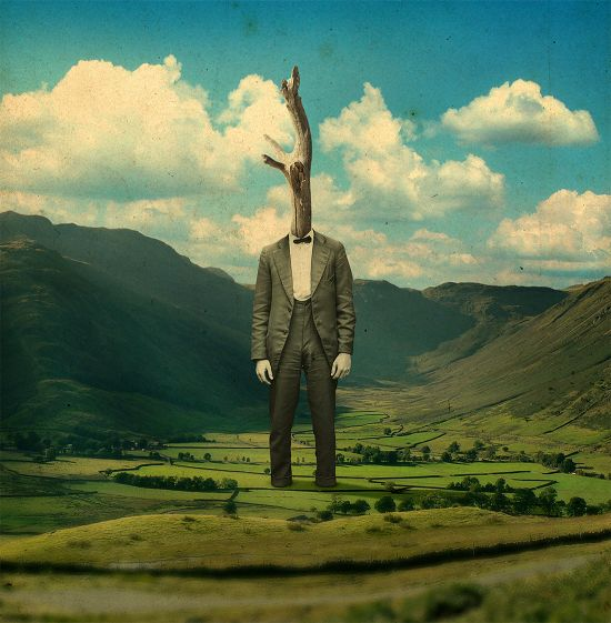 Joseba Elorza MiraRuido illustrations collages surreal vintage Trunk