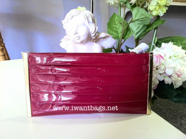 Anya Hindmarch Ivo Clutch – Pink