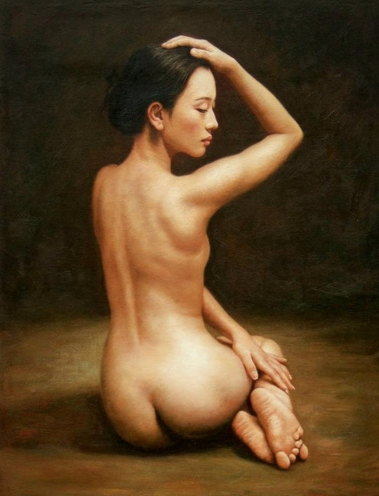 Kiéra Malone | French Realistic Figurative painter | Suggestions