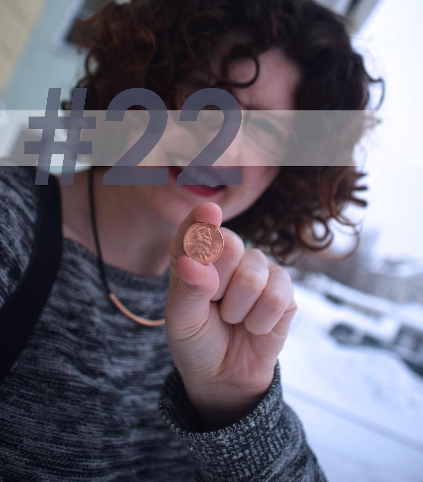 Feelin' 22 | Pennies & Paper Blog
