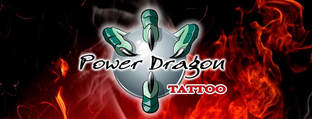 POWER DRAGON TATTOO