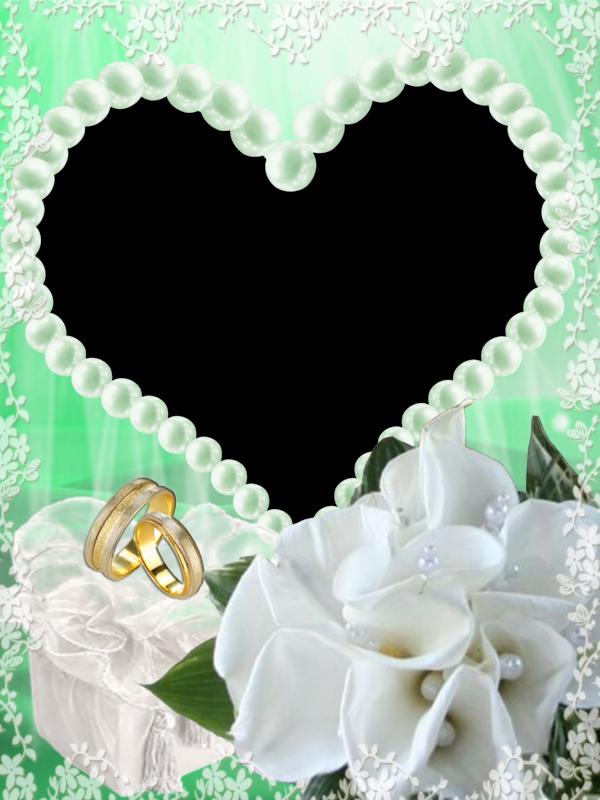 para Fotos en Png de Matrimonio o Boda. ~ Marcos Gratis para