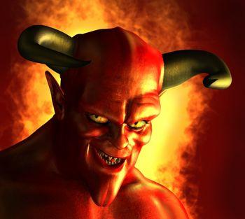 Risultati immagini per immagine di satana