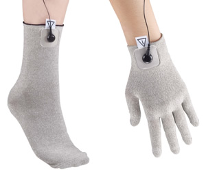conductive socks and gloves