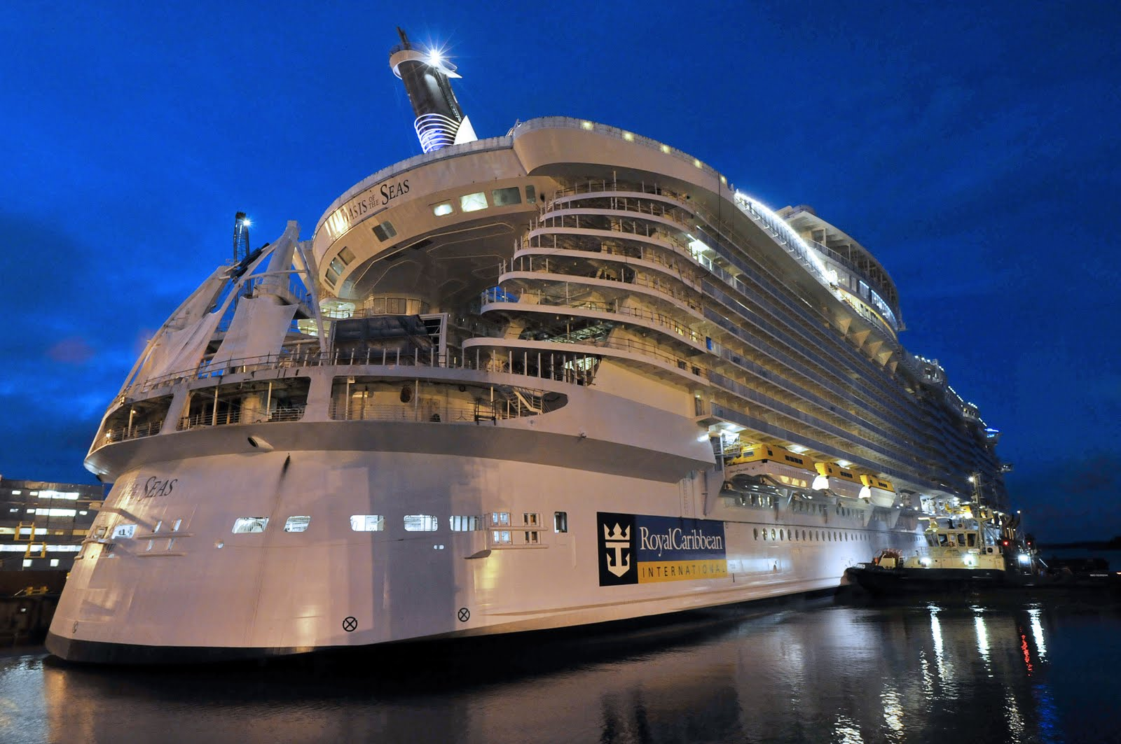 Biggest Cruise Ship Of The World Detlandcom - Biggest and best cruise ships