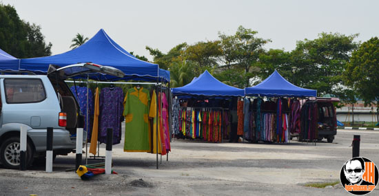 Pasar Kemboja Bandar Baharu Nan Sepi