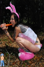 Happy Easter From Emo Bunny Ruby At Erotic BPM!
