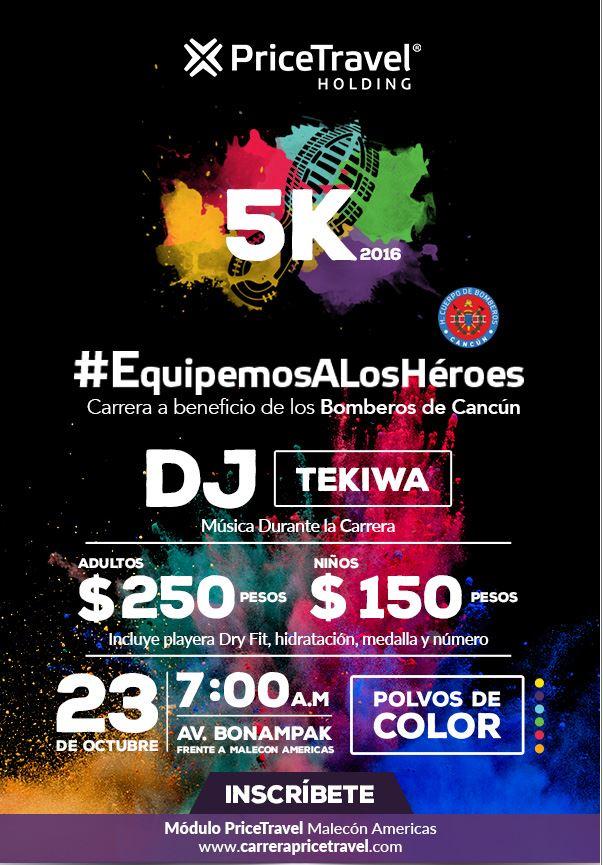 Carrera 5 km l #EquipemosAlosHéroes