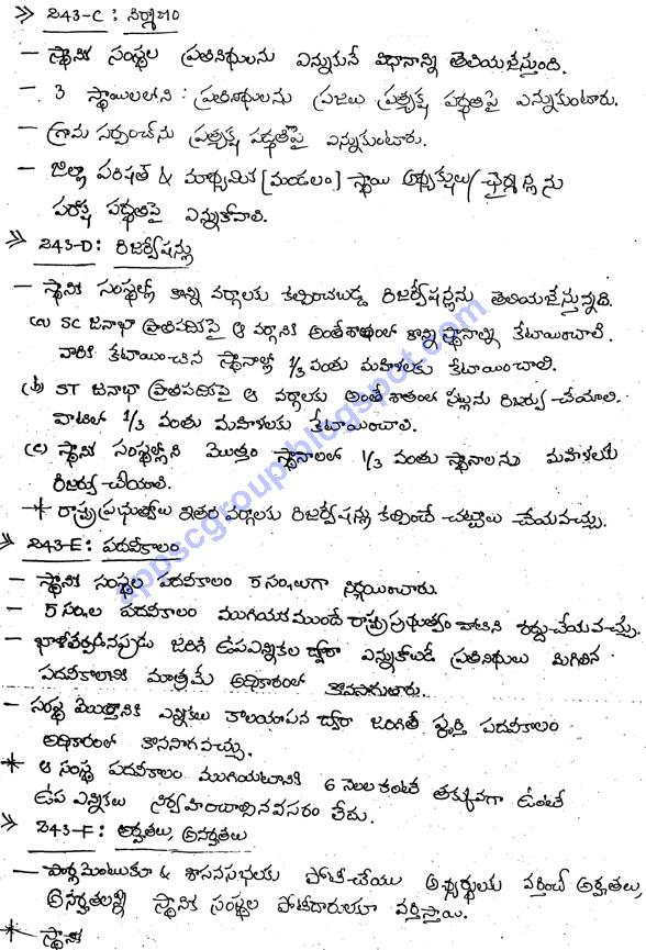 indian polity notes pdf in telugu