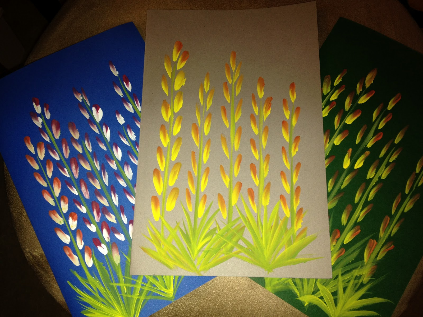 Quillnmore gifts one stroke paintings on greeting cards one stroke paintings on greeting cards kristyandbryce Gallery
