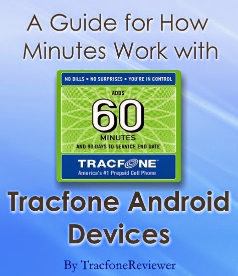 tracfone android minutes