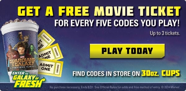 Free Movie Ticket Subway Restaurants