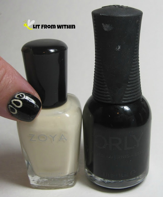 Zoya Jacqueline and Orly Black Vinyl