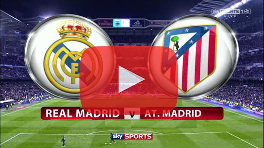 Real Madrid vs Atlético de Madrid En Vivo