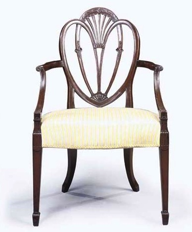 Hepplewhite Style Chair