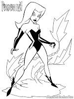 Poison Ivy Musuh Besar Batman Dan Batgirl Untuk Diwarnai