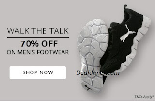 Footwear 70% off or more