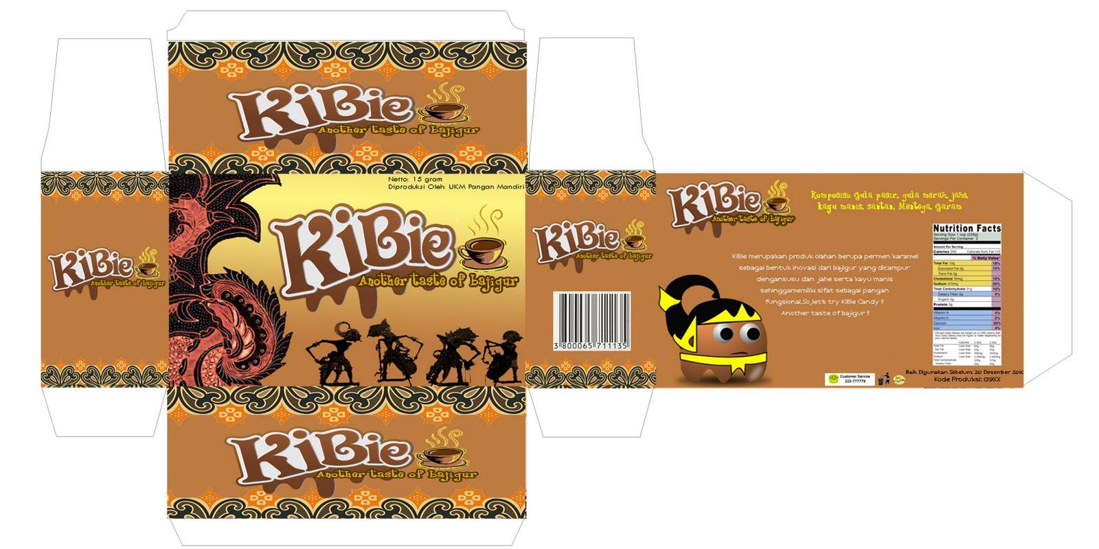 """Permen Karamel Bajigur """"KIBIE"""" kaya antioksidan dan antibakteri"""