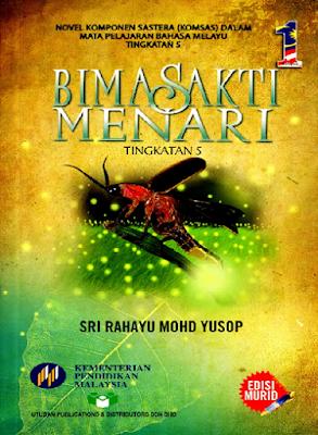 Novel Bimasakti Menari komsas Tingkatan 5