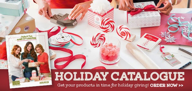 Stampin Up holiday catalogue for cataalogue launch
