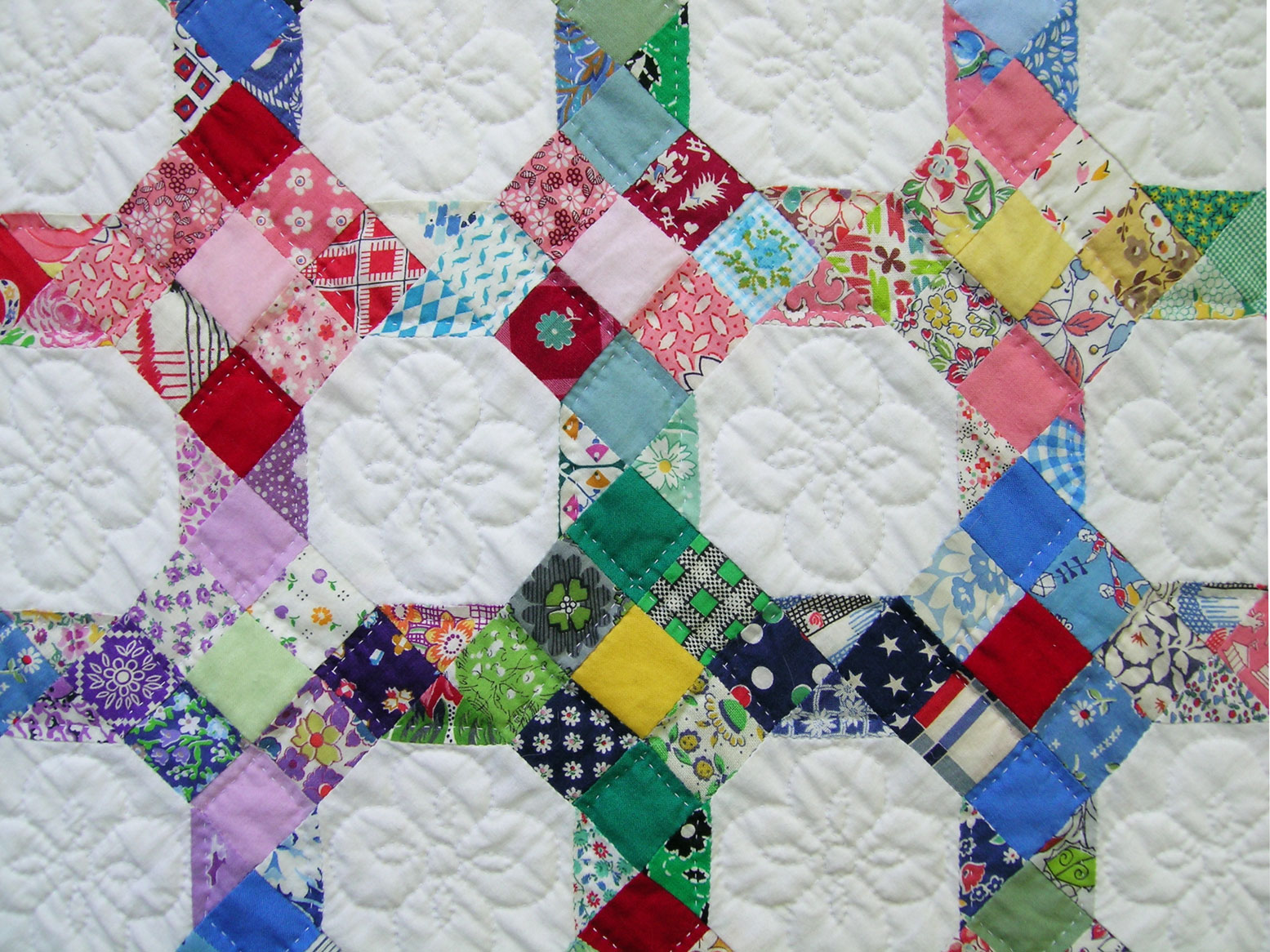 Dear Lissy: Scrap Quilting By Hand, Part 2: Choosing A Style