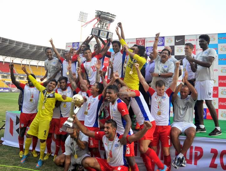 Bengaluru FC beat Dempo SC to win Federation Cup 2014-15