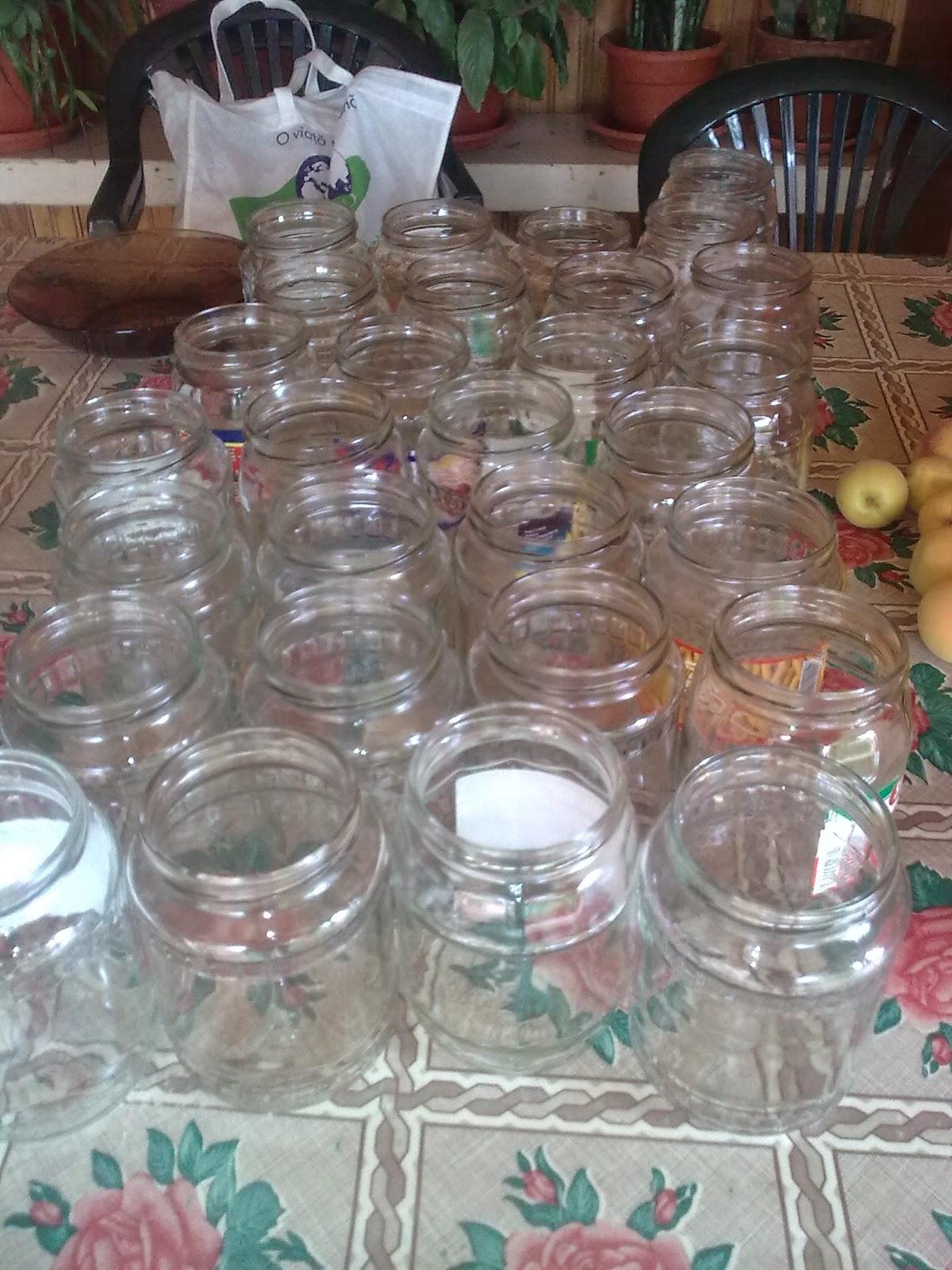 borcane pentru compotul de prune pentru iarnă