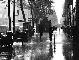 I sing in the rain ♪