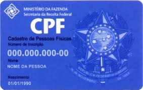 Imprimir CPF Primeira Via