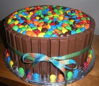 バースデーチョコレートケーキ