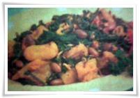 sambal goreng daun singkong dan krecek