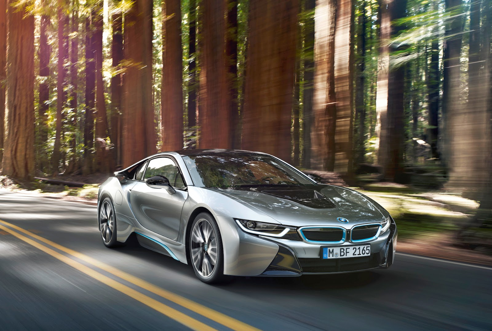 BMW i8 - 2 door electric sports car